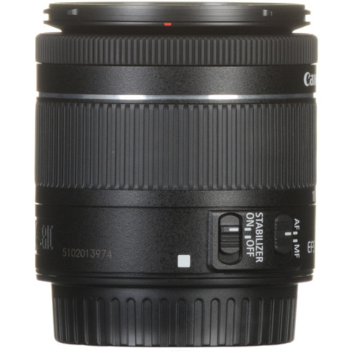 Canon EF-S 18-55mm f/4-5.6 IS STM Lens