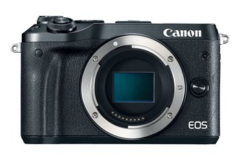 Canon EOS M6 CSC Camera Black Body Only