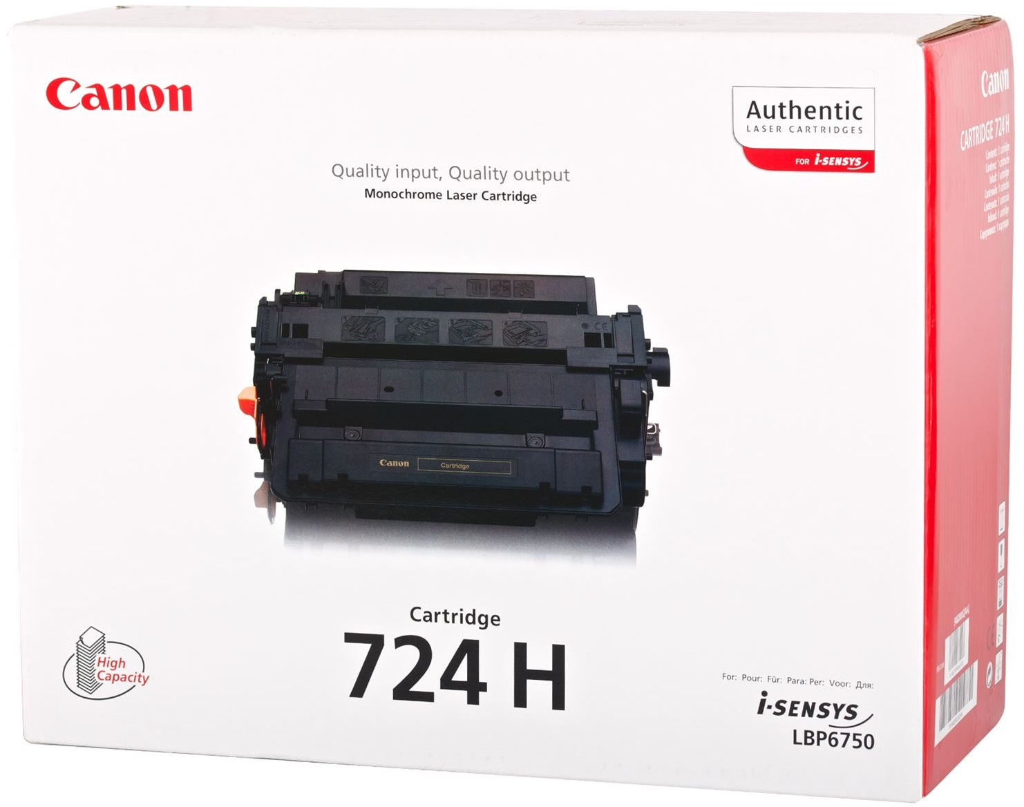 Canon LBP6750DN All-in-One Cartridge 724H