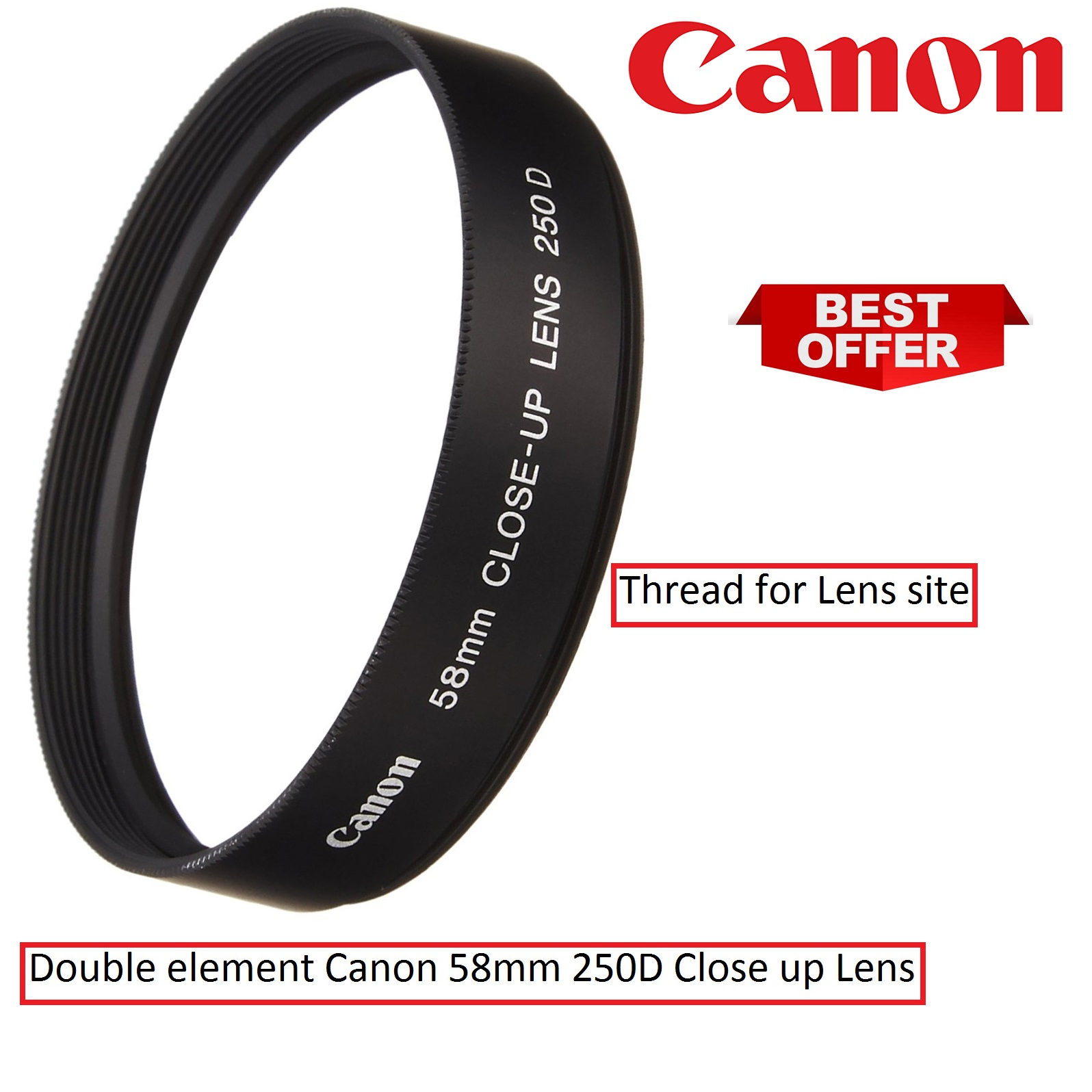 Canon 58mm Type 250D Close-Up Lens