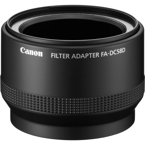 Canon FA-DC58D Filter Adapter for G15 G16