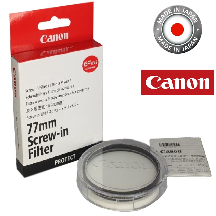 Canon 77mm Protector Filter