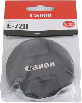 Canon E-72 II 72mm Lens Cap For Canon EF Lenses