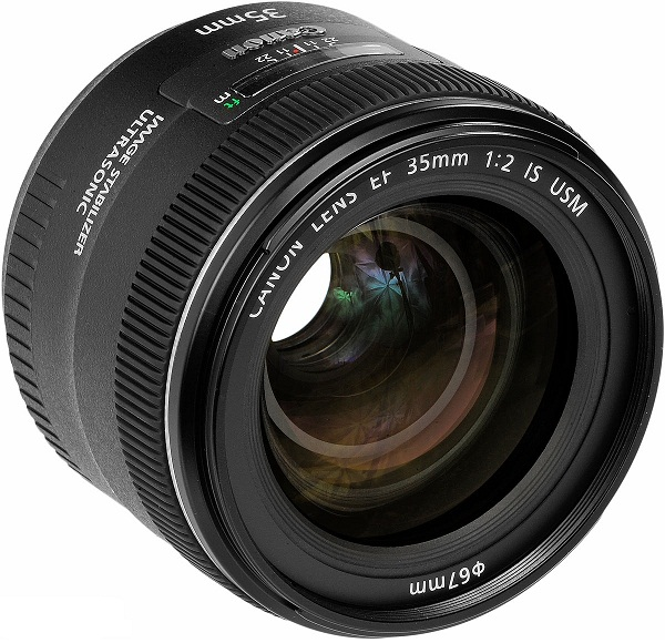 Canon EF 35mm F2.0 IS USM Wide Angle Standard Prime Lens
