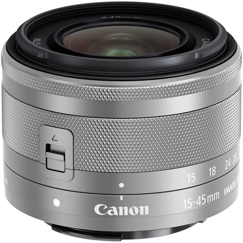 News Canon EF-M 15-45mm f/3.5-6.3 IS Lens