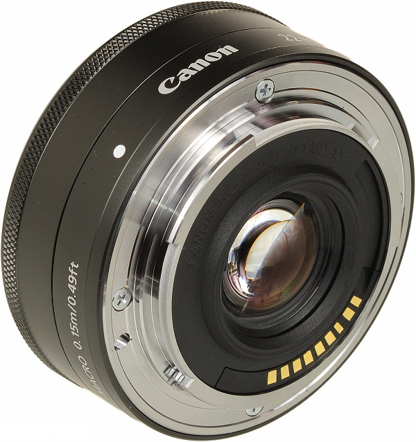 Canon EF-M 22mm F2 STM Lens For EOS M Mirrorless Camera