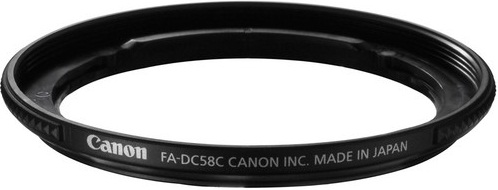 Canon FA-DC58C 58mm Filter Adapter For G1 X Camera