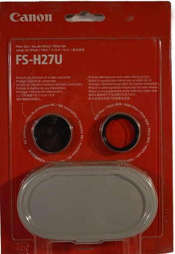 Canon FS-H27U 27mm Filter Set with Neutral Density & Protection Filters