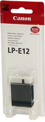 Canon LP-E12 Lithium-Ion Battery Pack