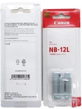 Canon NB-12L Lithium-Ion Battery For PowerShot N100 Digital Camera