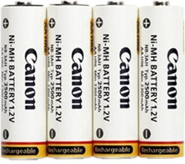 Canon NB4-300 AA Rechargeable Batteries Nickel Metal Hydride