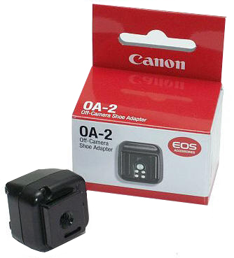 Canon Off-Camera Shoe Adapter OA-2 - Flash Shoe for Off Camera