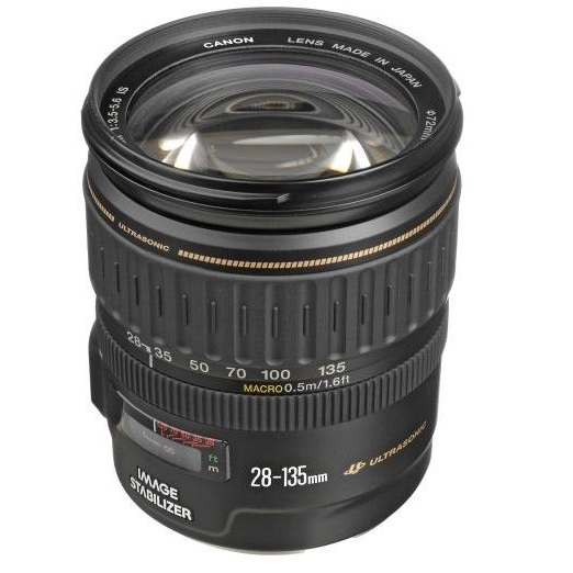 Canon EF 28-135mm F3.5-5.6 IS USM Image-Stabilized AF Lens