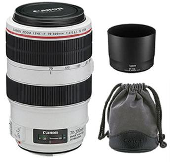 Canon EF 70-300mm F/4-5.6L IS USM Auto Focus Telephoto Zoom Lens