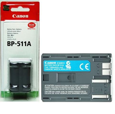 Canon BP-511A Li-on Rechargeable Battery for Digital Cameras