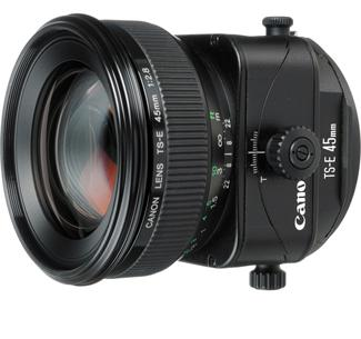 Canon TS-E 45mm F2.8 Tilt and Shift Lens