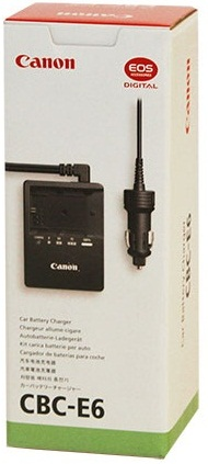 Canon CBC-E6 Car Battery Charger