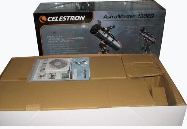 Celestron astromaster eq reflector telescope £