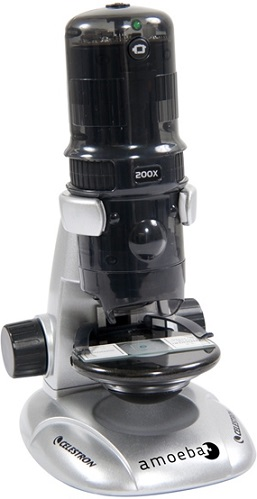 Celestron Amoeba Dual Purpose Digital Microscope Gray