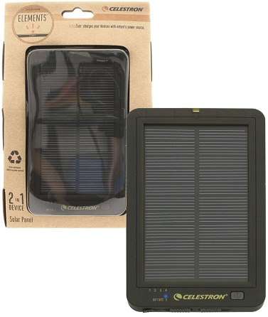 Celestron Element InfiniSun Power Pack With Solar Panel