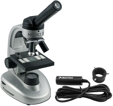 Celestron Micro360+ Microscope With 2MP Digital Camera