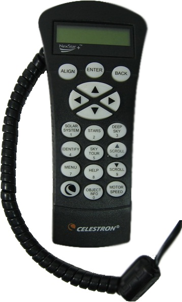 Celestron NexStar+ Hand Control For EQ Mounts