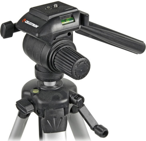 Celestron Photographic and Video Tripod With 3-Way Head