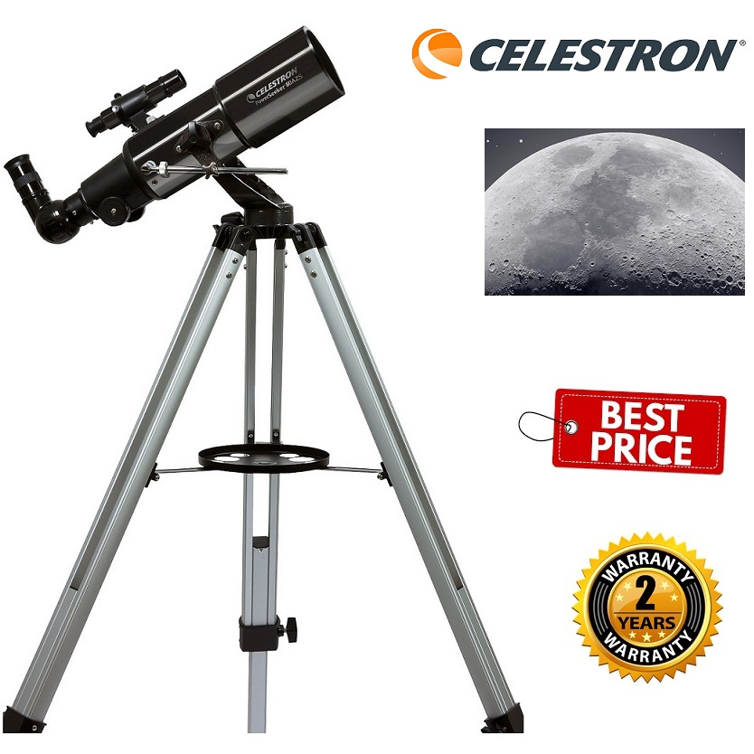 Celestron Power Seeker 80AZS Refractor Telescope