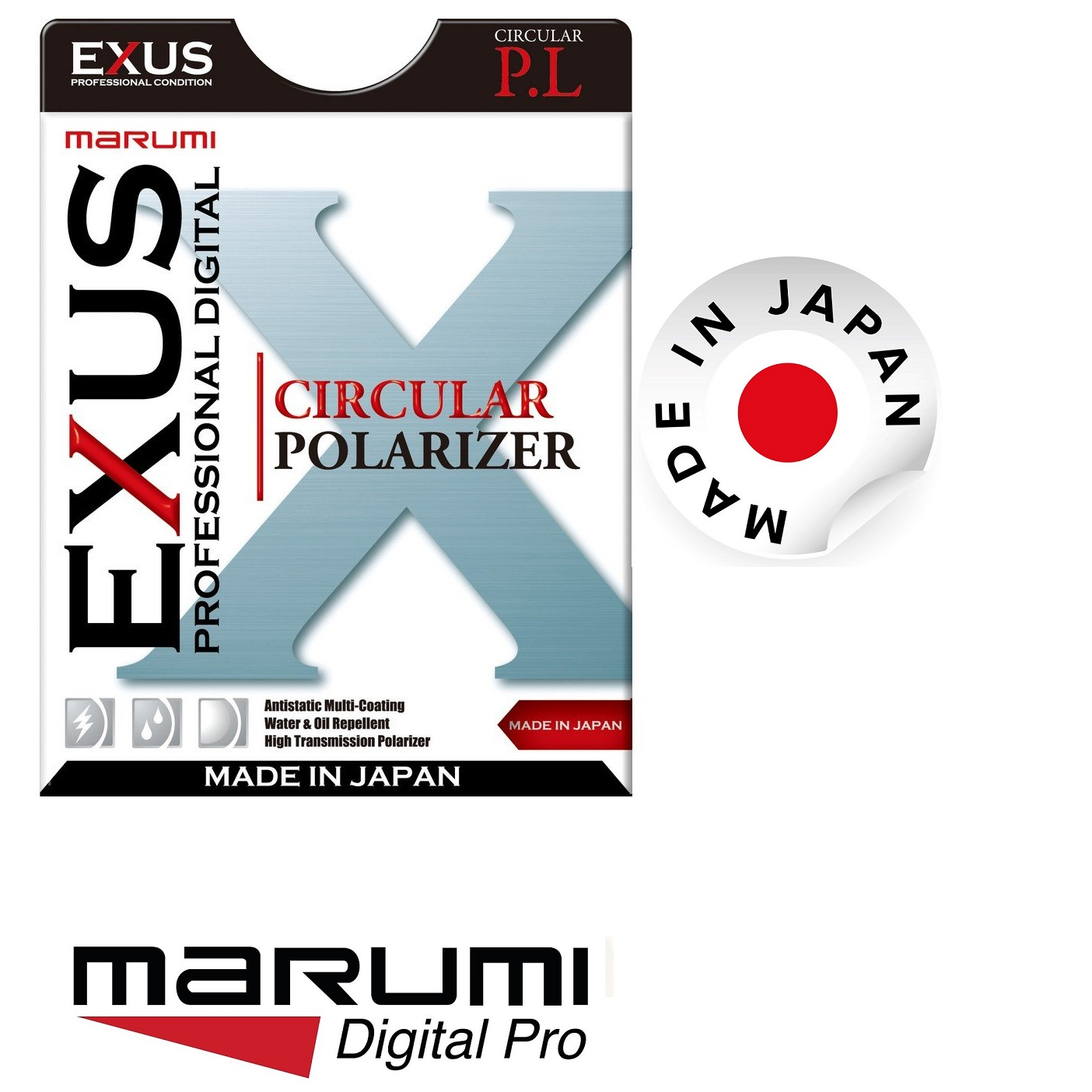Marumi 46mm EXUS Circular Polarizing Filter