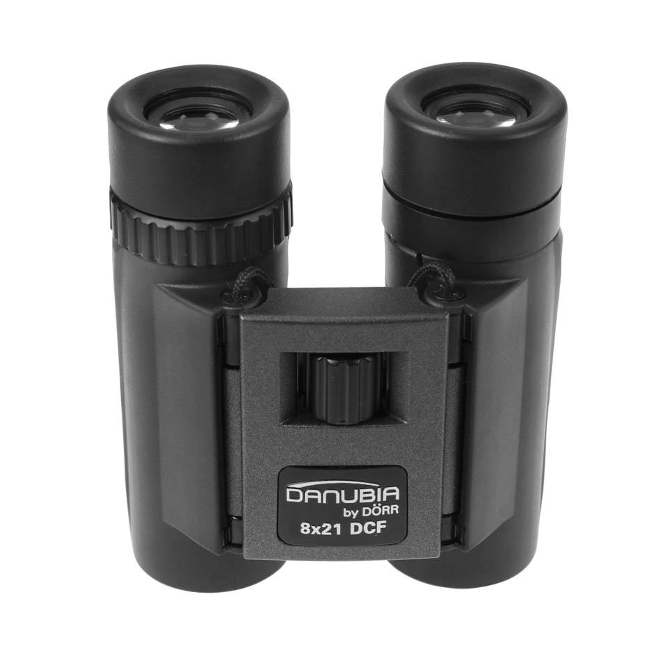Dorr Danubia 40 8x21 Black And Grey Pocket Binoculars