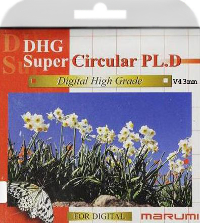 Marumi DHG Super Cicular PL Filter 43mm