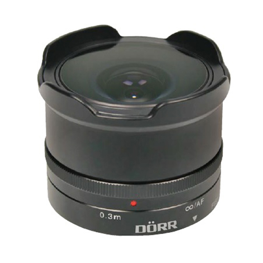 Dorr 12mm f7.4 Fisheye Wide Angle Lens - Fuji X Fit