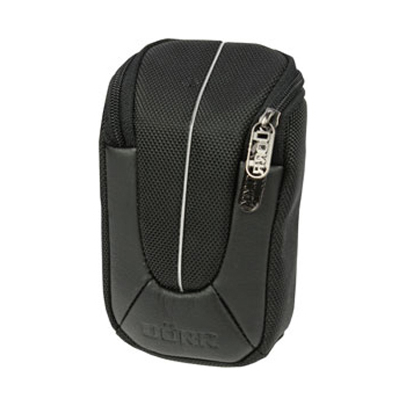 Dorr Yuma Compact Camera Case - Large Black and Silver