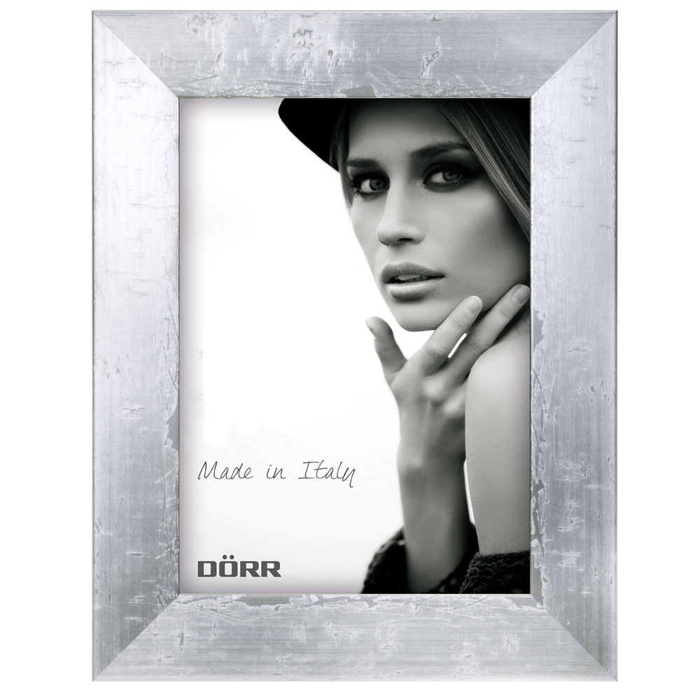 Dorr 6x4 Inch Milo Silver Effect Wooden Photo Frame