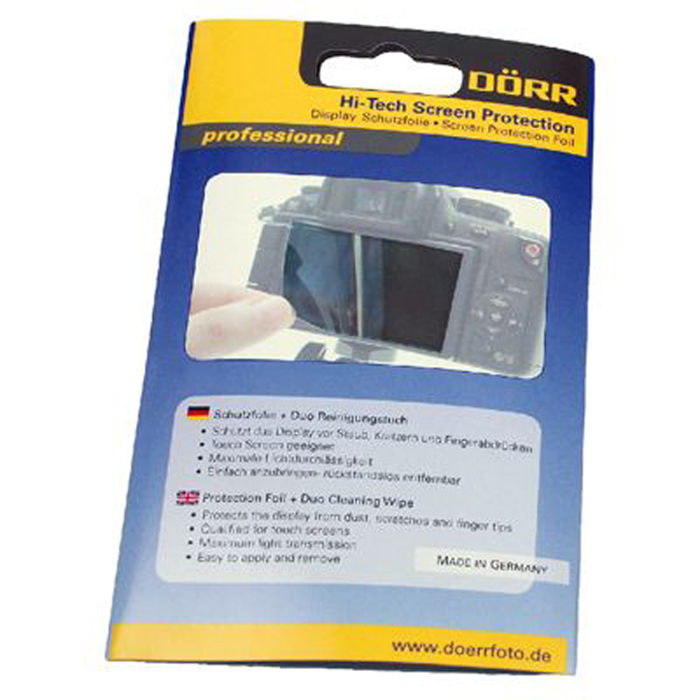 Dorr 3.5-Inch Hi Tech Universal LCD 4:3 Anti Reflect Protection Foil