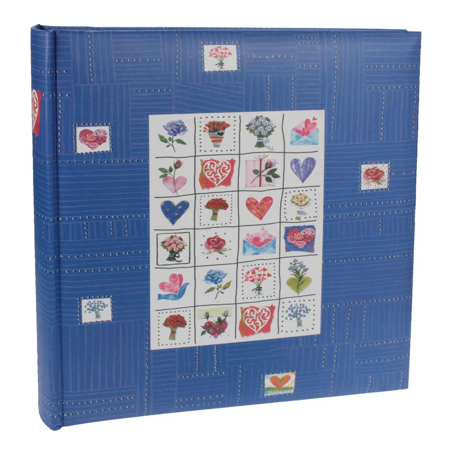 Dorr Stamps Blue Traditional Photo Album - 100 Sides