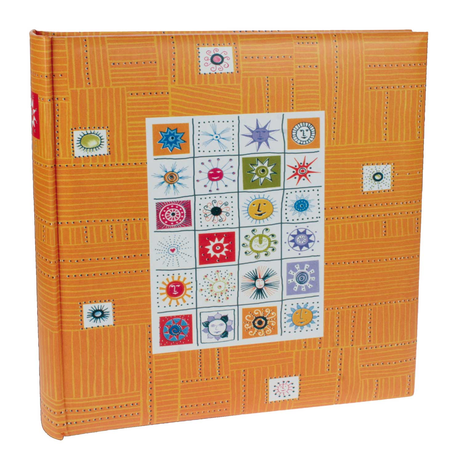 Dorr Stamps Orange Traditional Photo Album - 100 Sides