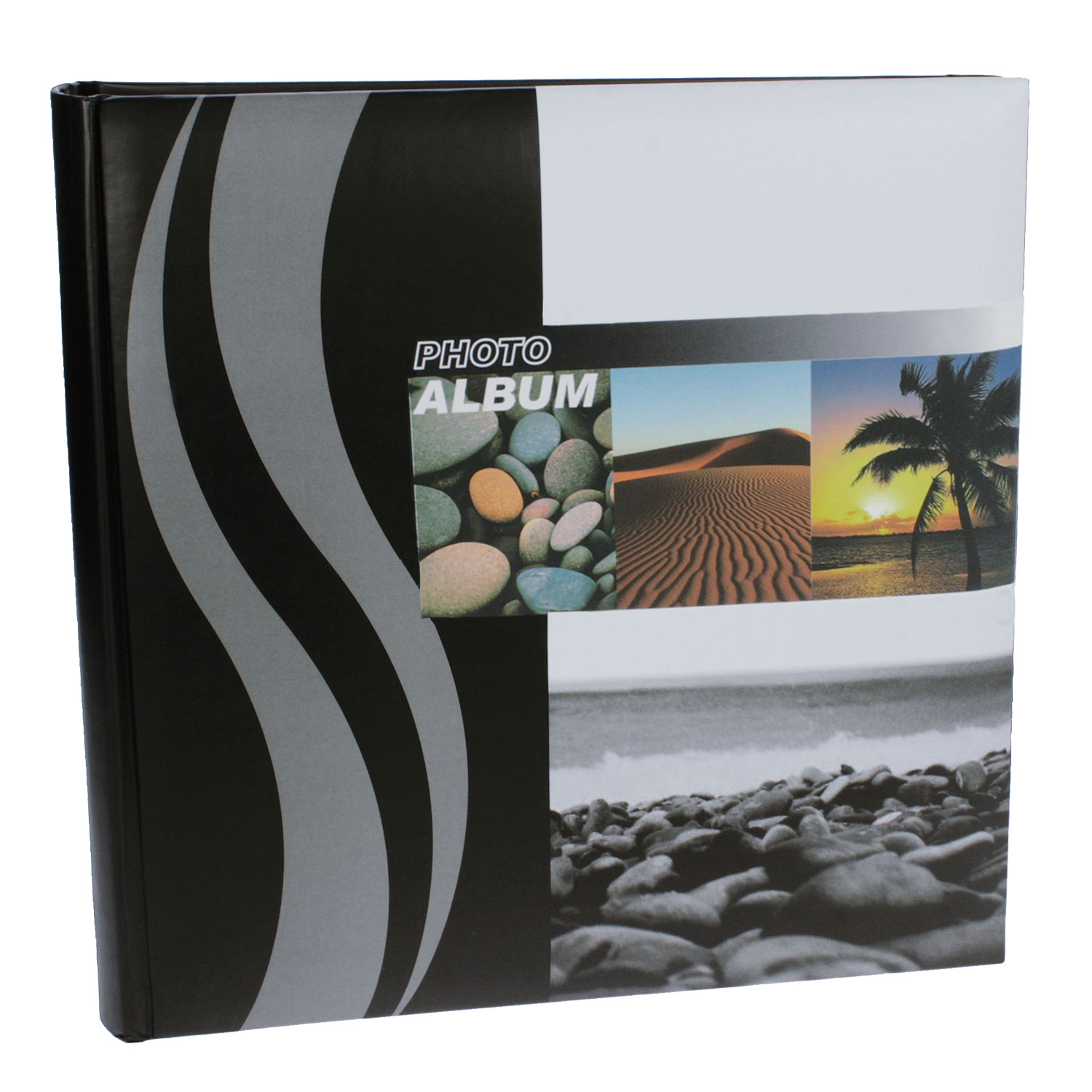 Dorr Wave Palm Tree Traditional Photo Album - 100 Sides