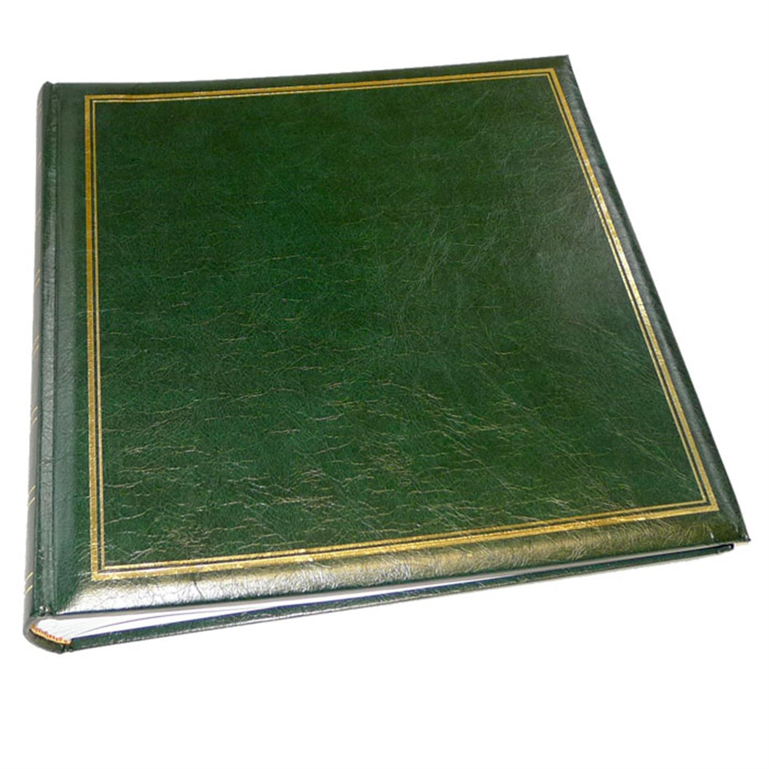 Dorr Classic Large Green Traditional Photo Album - 100 Sides