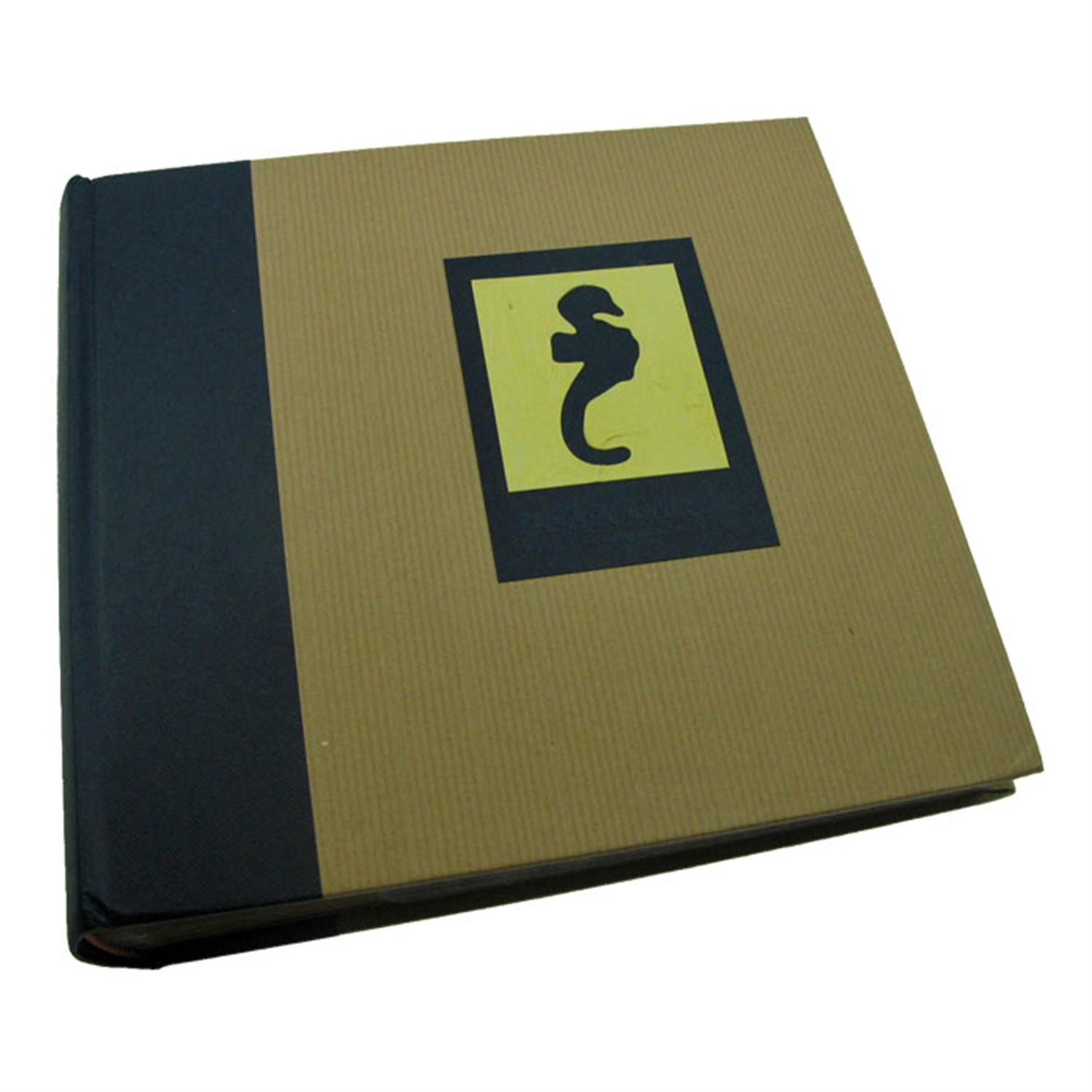 Dorr Green Earth Blue Seahorse 6x4 Slip In Photo Album - 200 Photos