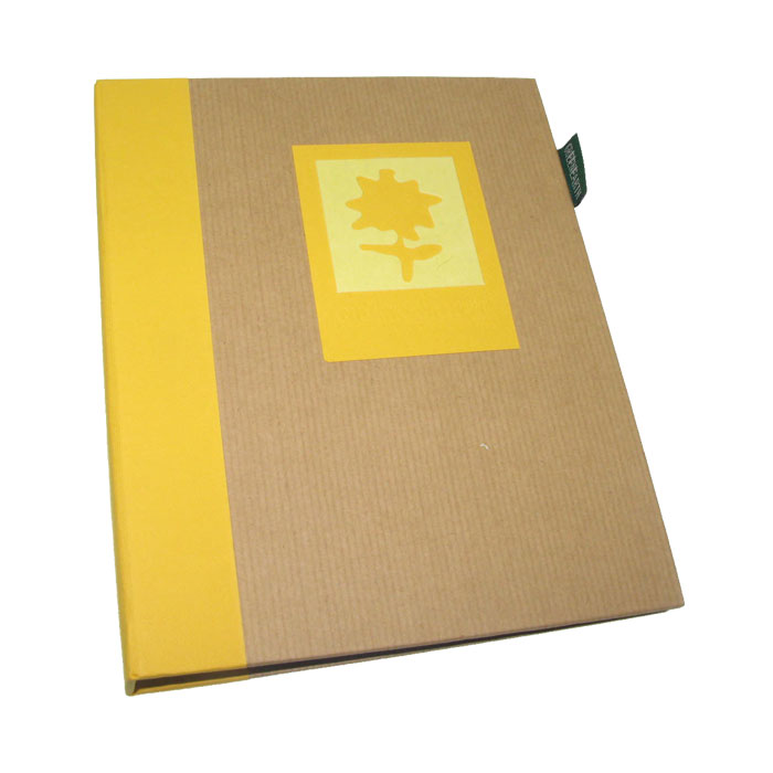 Dorr Green Earth Yellow Flower Mini 7x5 Slip In Photo Album 36 Photos