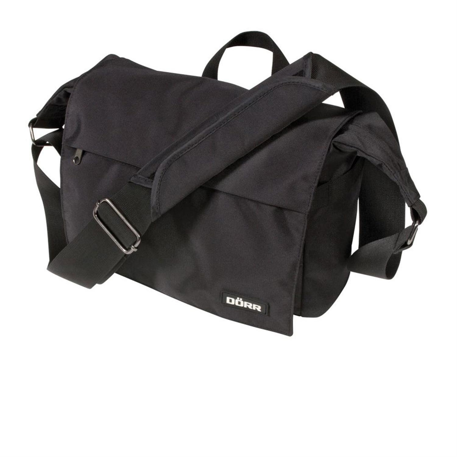 Dorr Move Black Messenger Photo Bag - Small