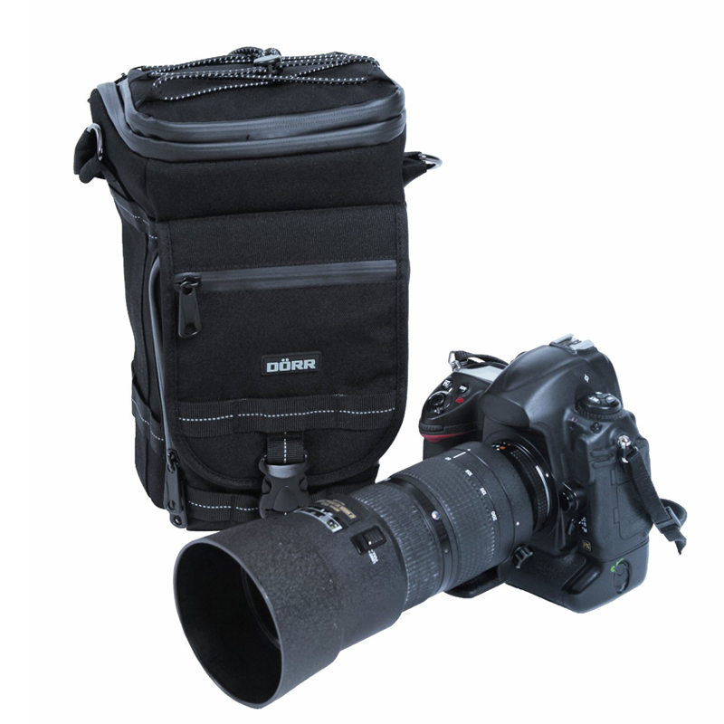 Dorr Zoom Black Parkour Camera Bag