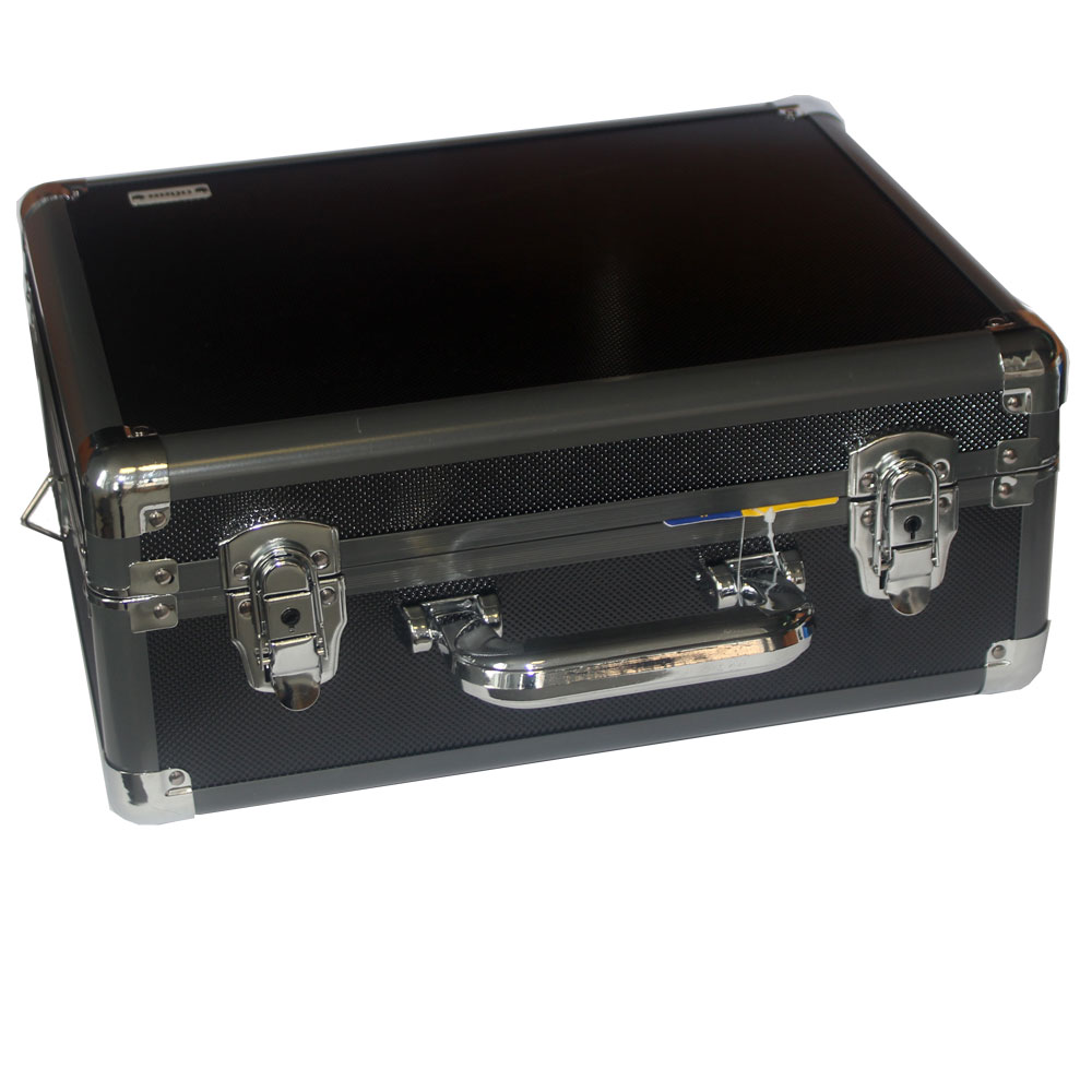 Dorr Titan 38 Silver Aluminium Case with Foam and Dividers