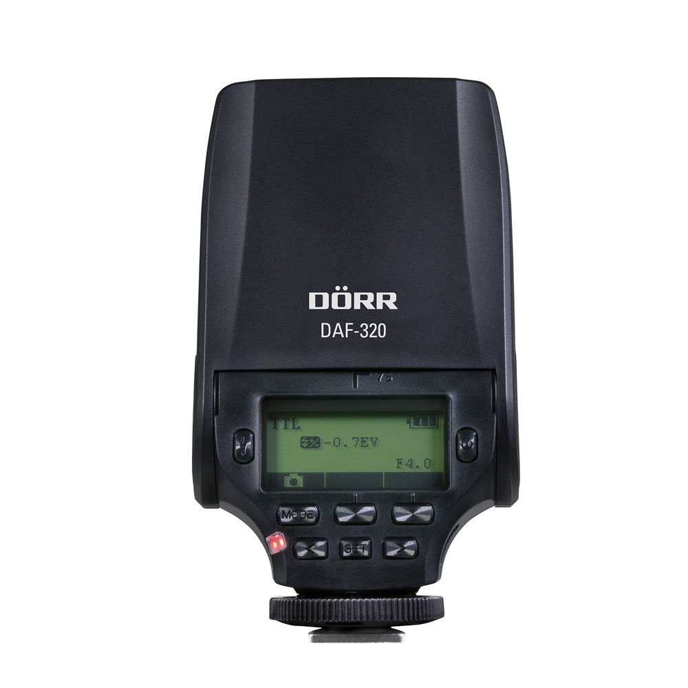 Dorr DAF-320 TTL Flash - Fuji