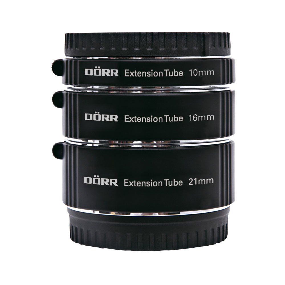 Dorr Extension Tube Kit (10, 16, 21mm) For Nikon 1