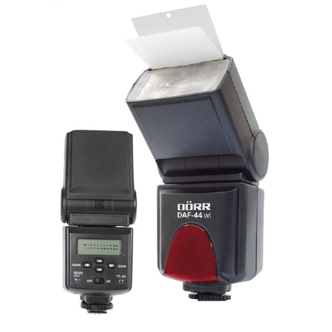 Dorr DAF-44 Wi Power Zoom TTL Flash Unit Nikon Fit