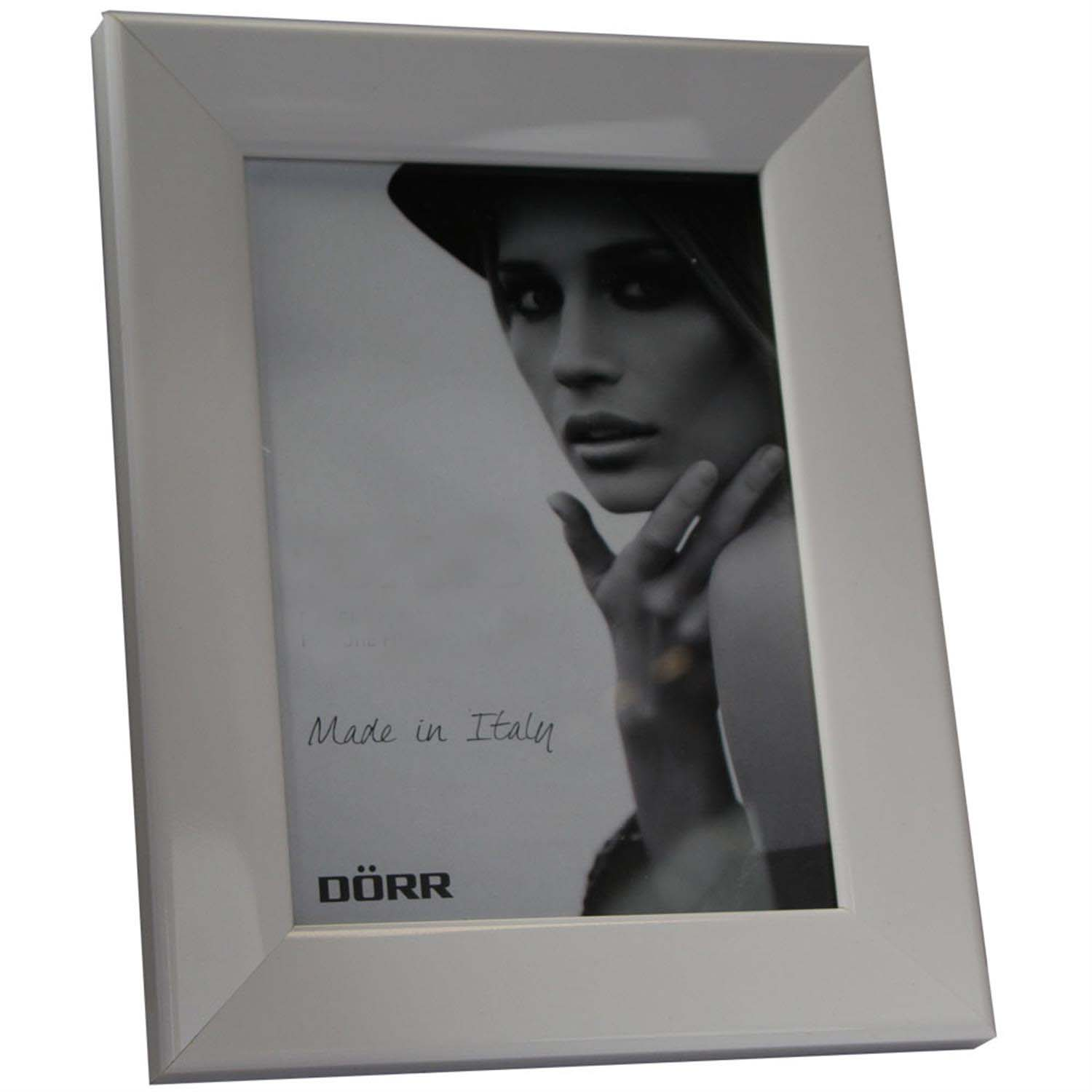 Dorr Lack White 7x5 Photo Frame