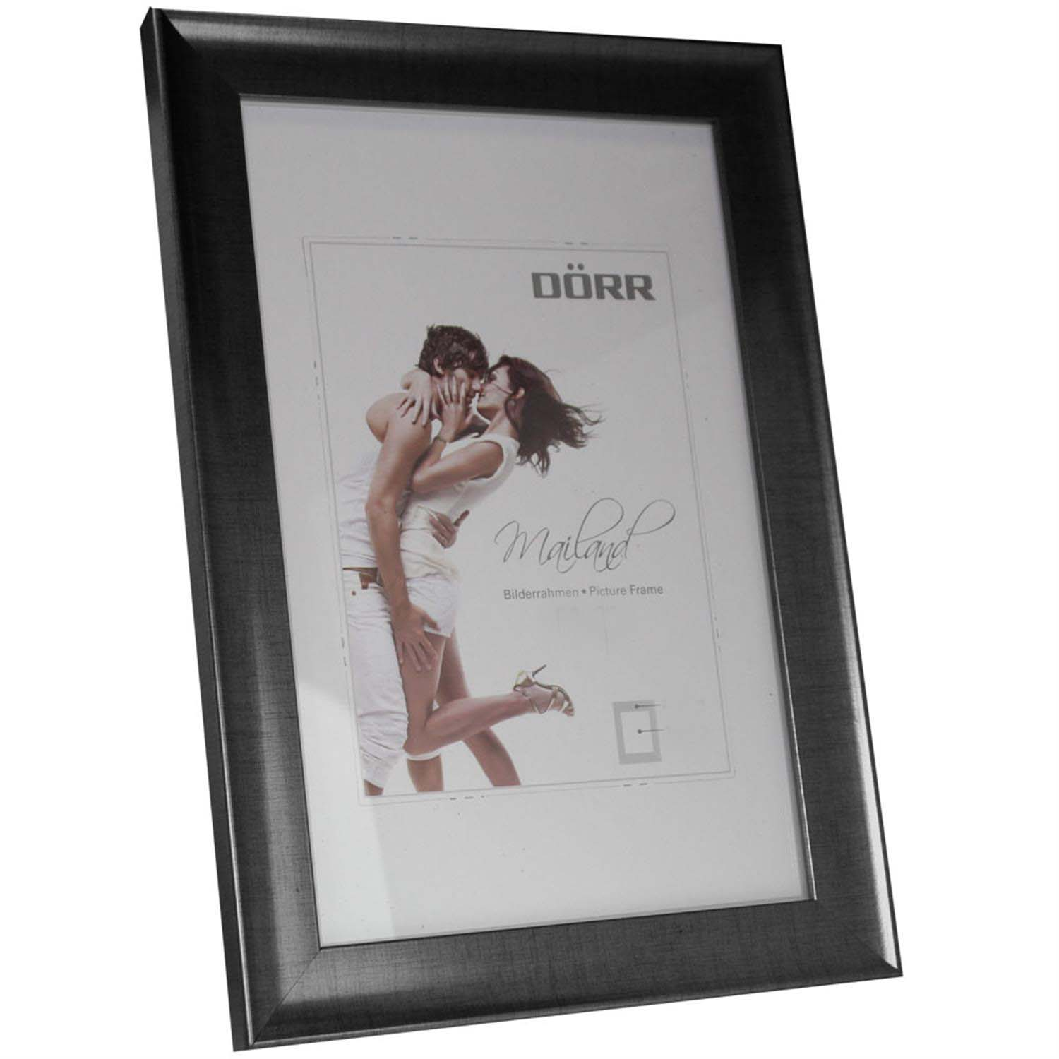 Dorr Mailand Pewter Effect 12x8 Photo Frame