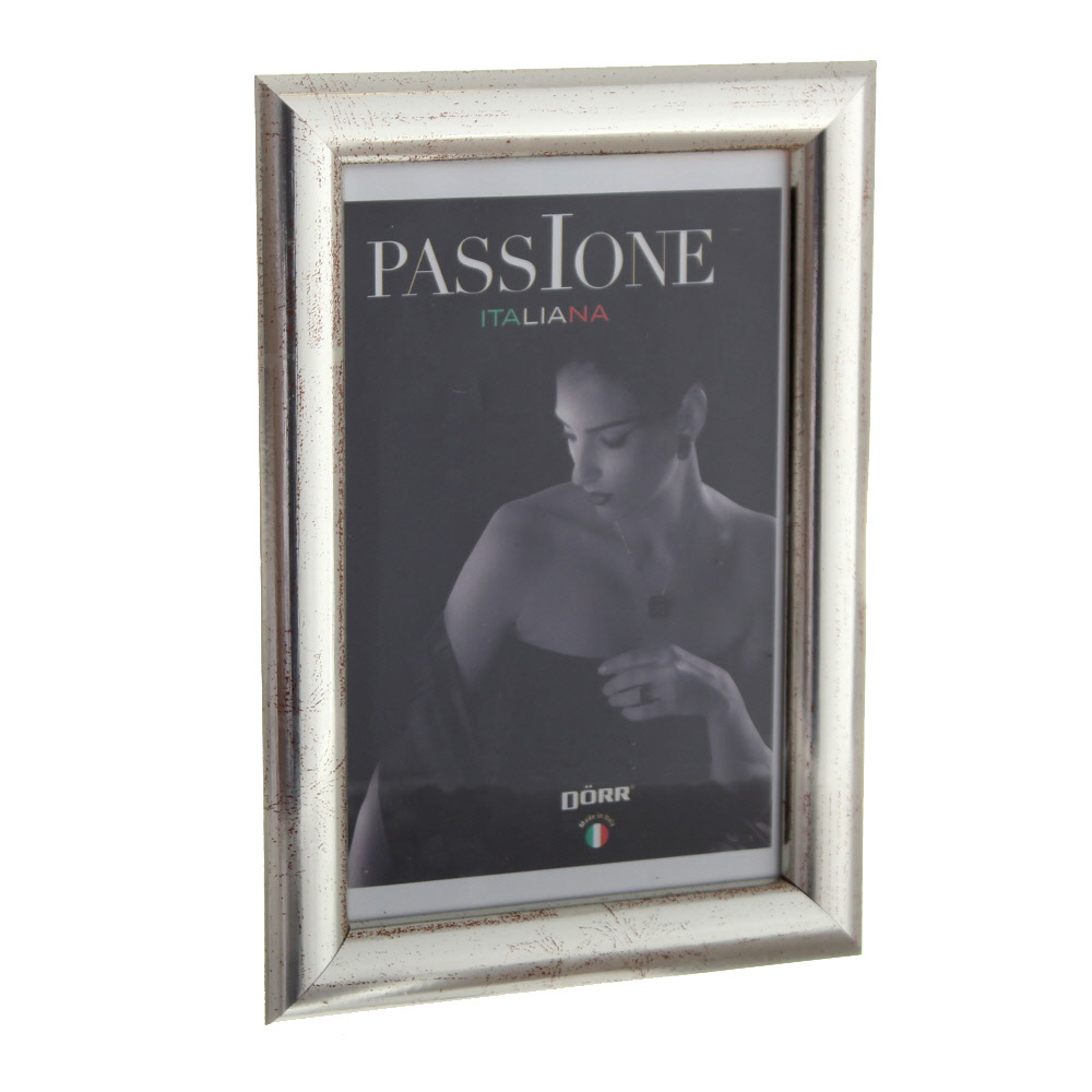 Dorr Guidi Silver Wooden 6x4 Photo Frame
